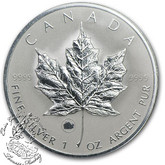 Canada: 2009 $5 Maple Leaf with Ox Privy Silver Coin