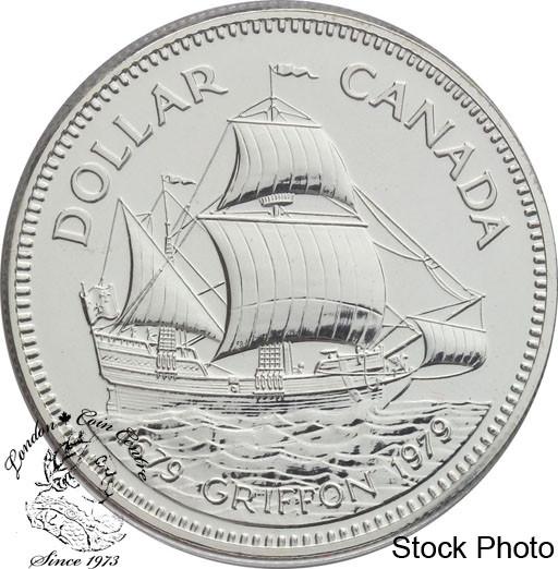 1979 Canada $1 Silver Dollar Griffon