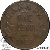 Canada: 1923 1 Cent VF20