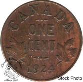 Canada: 1924 1 Cent F12