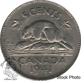 Canada: 1941 5 Cent EF40