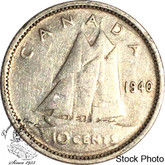 Canada: 1940 10 Cents VF20