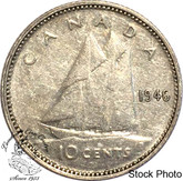 Canada: 1946 10 Cents VF20