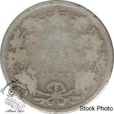 Canada: 1901 25 Cents AG3