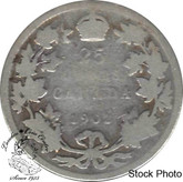 Canada: 1902 25 Cents AG3