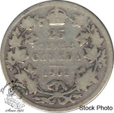 Canada: 1902 25 Cents VG8
