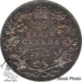 Canada: 1912 25 Cents VF20