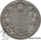 Canada: 1914 25 Cents VG8