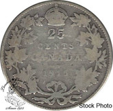 Canada: 1915 25 Cents G4