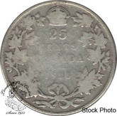 Canada: 1916 25 Cents G4