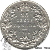 Canada: 1916 25 Cents F12
