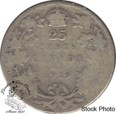 Canada: 1919 25 Cents G4