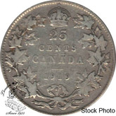 Canada: 1919 25 Cents VG8