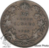Canada: 1928 25 Cents F12