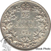 Canada: 1928 25 Cents EF40
