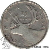 Canada: 1938 25 Cents VF20
