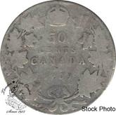 Canada: 1909 50 Cents AG3