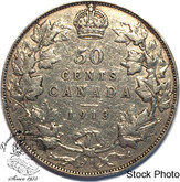 Canada: 1913 50 Cents F12
