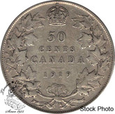 Canada: 1919 50 Cents F12
