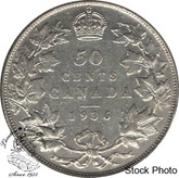 Canada: 1936 50 Cents F12