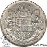 Canada: 1942 50 Cents AU50