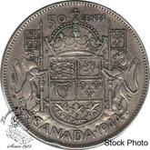 Canada: 1944 50 Cents Near 4 EF40