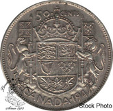 Canada: 1947 50 Cents ML Lft EF40