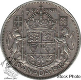 Canada: 1948 50 Cents VF20