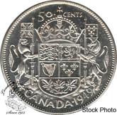 Canada: 1949 50 Cents AU50