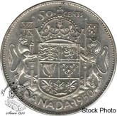 Canada: 1950 50 Cents Des 0 EF40