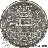 Canada: 1950 50 Cents Des 0 MS60