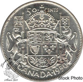 Canada: 1950 50 Cents Des 0 MS62