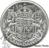 Canada: 1952 50 Cents AU50