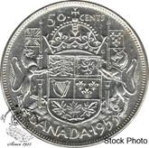 Canada: 1953 50 Cents LD NSF AU50