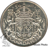 Canada: 1953 50 Cents LD NSF MS62