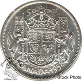 Canada: 1958 50 Cents MS60