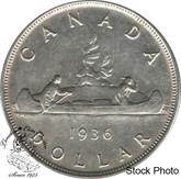 Canada: 1936 $1 VF20