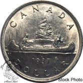 Canada: 1937 $1 MS60