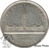 Canada: 1939 $1 EF40