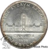 Canada: 1939 $1 Dollar MS62