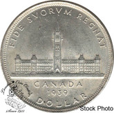 Canada: 1939 $1 2 or 3XHP MS60