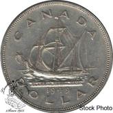 Canada: 1949 $1 EF40