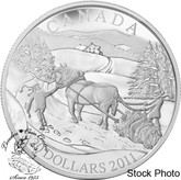 Canada: 2011 $20 Winter Scene Silver Coin