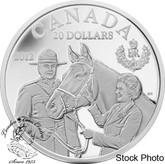 Canada: 2012 $20 Queen's Visit to Canada Silver Coin