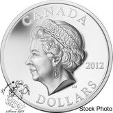 Canada: 2012 $20 Ultra High Relief The Queen's Portrait Silver Coin