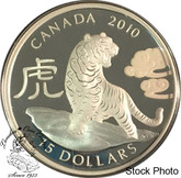 Canada: 2010 $15 Year of the Tiger Silver Coin