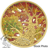 Canada: 2016 $250 Maple Canopy: Kaleidoscope of Colour Gold Coin
