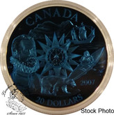 Canada: 2007 $20 International Polar Plasma Sterling Silver Coin