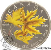 Canada: 2006 $5 Coloured Maple Leaf Silver Coin
