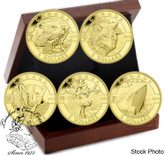 Canada: 2013 $5 Oh Canada Wildlife Pure Gold Coin Set